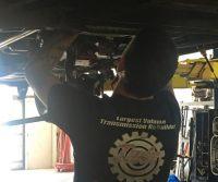 Twin Transmission mechanic repairing Honda transmission